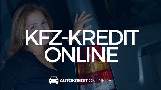 Kfz-Kredit online